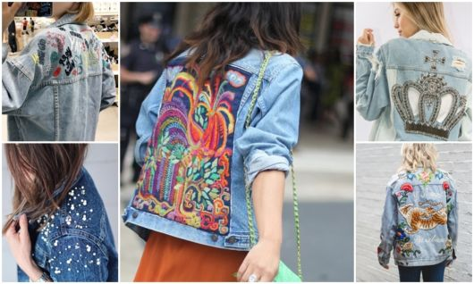 Jaqueta Jeans Bordada – 42 Modelos Glamourosos & Dicas Incríveis!