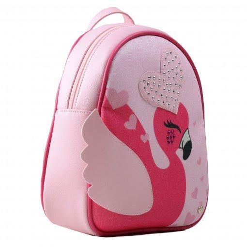 mochila infantil de couro