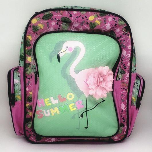 mochila simples infantil
