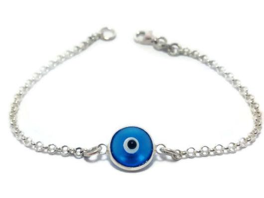 pulseira de olho grego