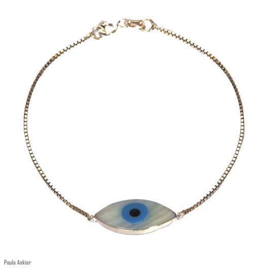 pulseira mdoerna olho grego