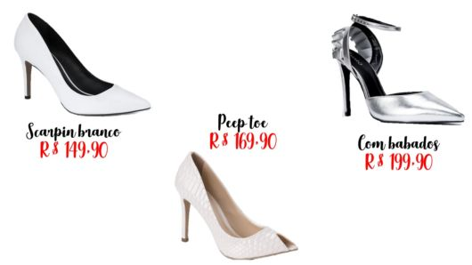 4a0bcc2677 Sapato de Noiva  Como Escolher  – Os 76 Modelos Mais Amados!
