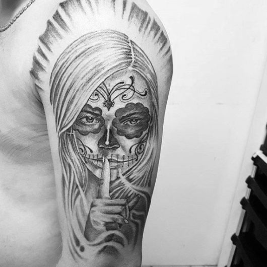 Tatuagem Catrina 70 Tattoos Sensacionais E Seu Real Significado