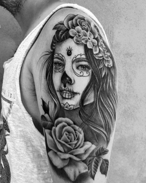 Desenhos Catrina Tattoos