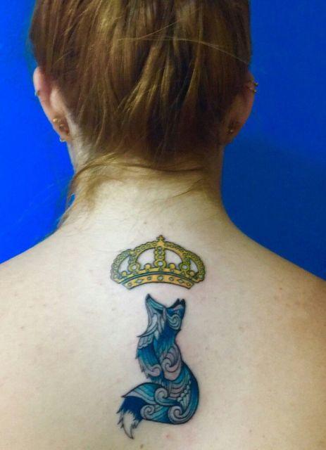 tatuagem do cruzeiro feminina
