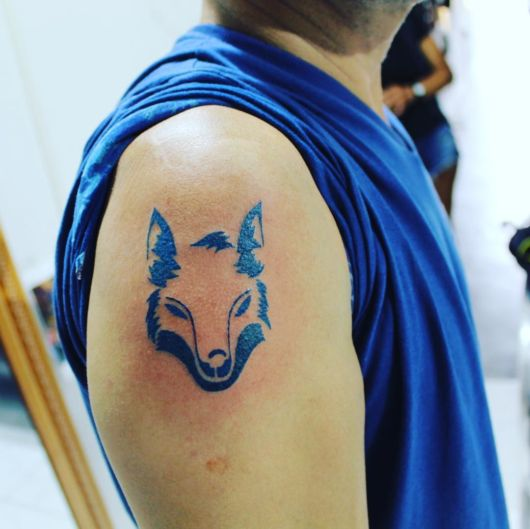 tatuagem do cruzeiro raposa