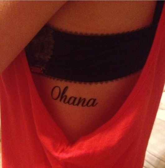 tatuagem  Lilo & Stitch