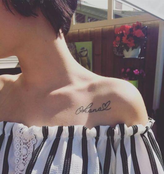 tatuagem com coração