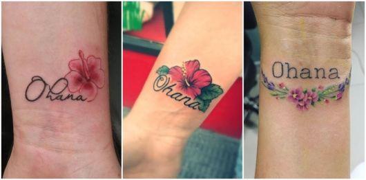 ideias de tatuagem com flores