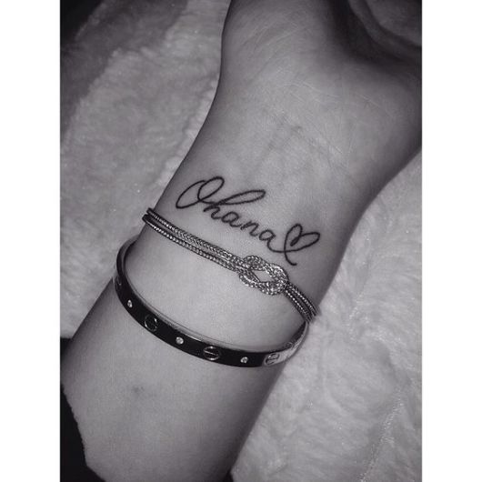 tatuagem feminina pulso