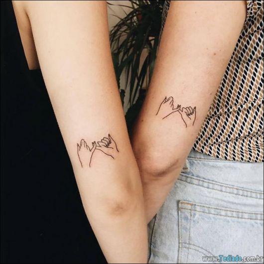 tatuagem gêmeos