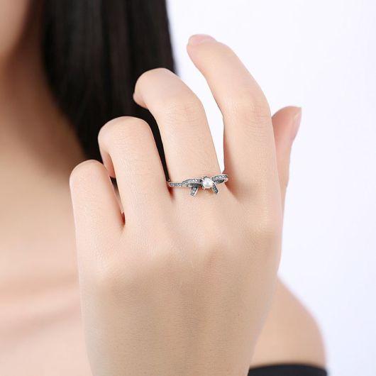 anel com laço