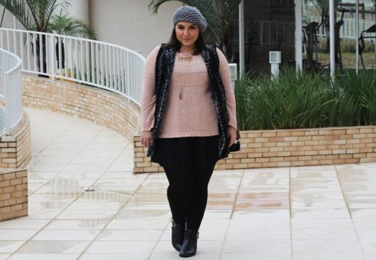 maxi colete plus size moda inverno