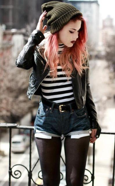 fotos do estilo punk