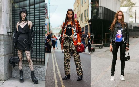 looks com estilo punk