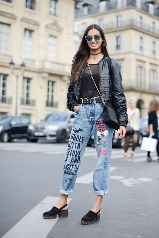 roupas do estilo punk