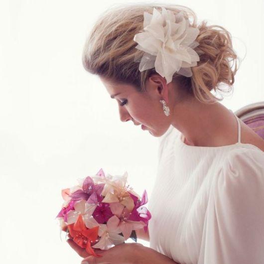 penteado despojado noiva