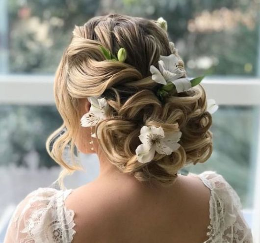 penteado grego noiva