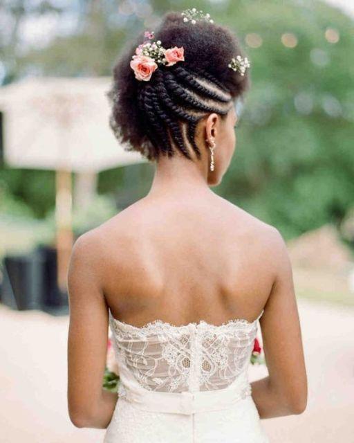 penteado noiva cabelo afro