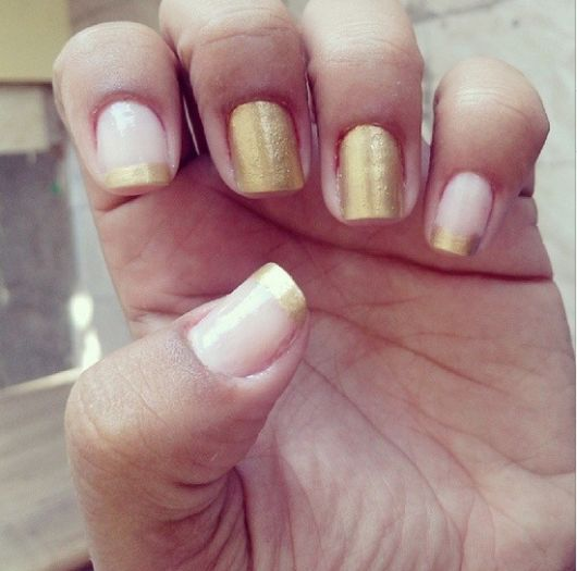 francesinha dourada básica