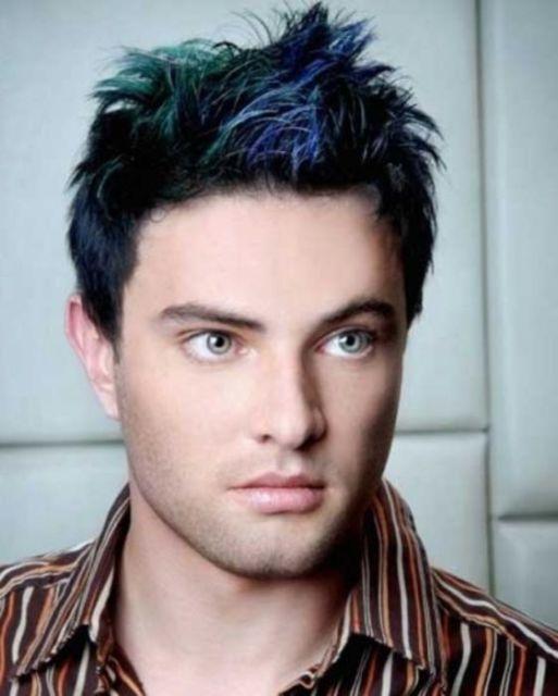 Luzes masculinas: azul