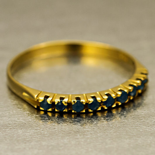 anel em ouro amarelo