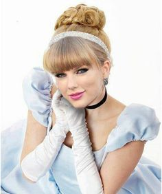 Penteado de princesa: Cinderela