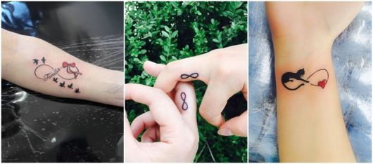 ideias tatuagem infinito