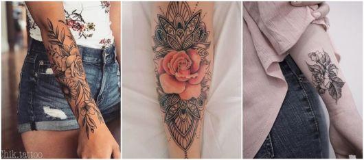 ideias tatuagem flor