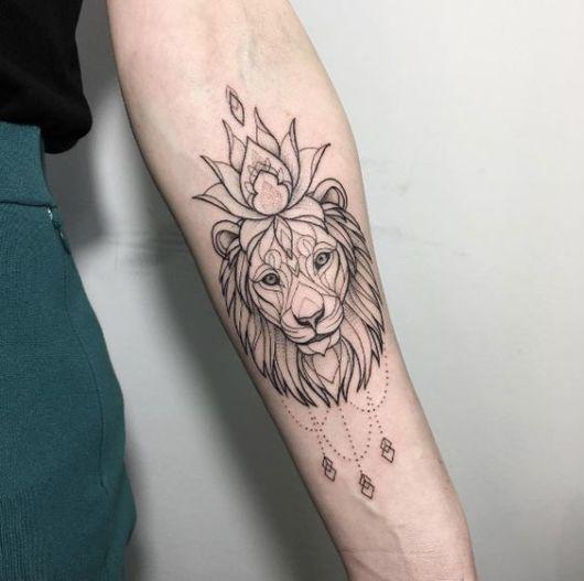 tatuagem estilo indiano