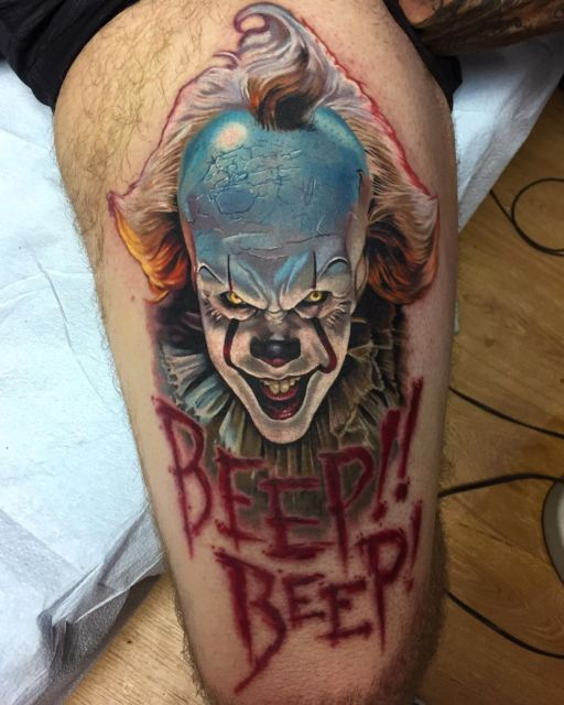 tatuagem Pennywise