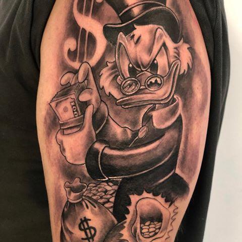 Tatuagem Do Tio Patinhas 70 Desenhos Deste Personagem Querido