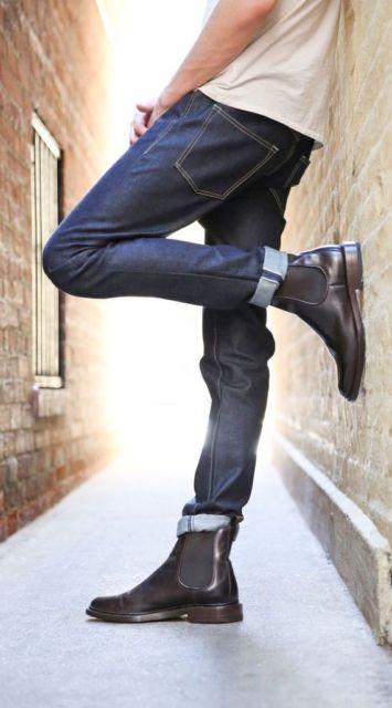 Bota chelsea masculina – 70 modelos e como usar a chelsea boots!