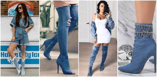 Bota Jeans – 41 Modelos & Como Combinar Com Suas Roupas!