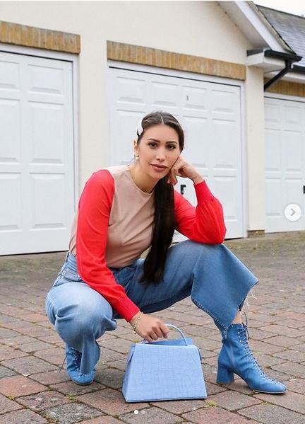 look com pantacourt jeans