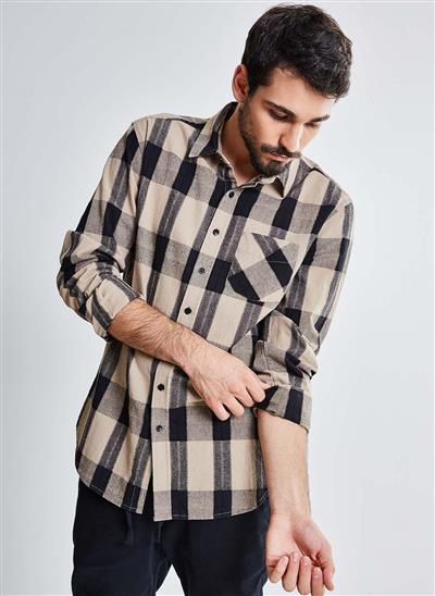 camisa com listras