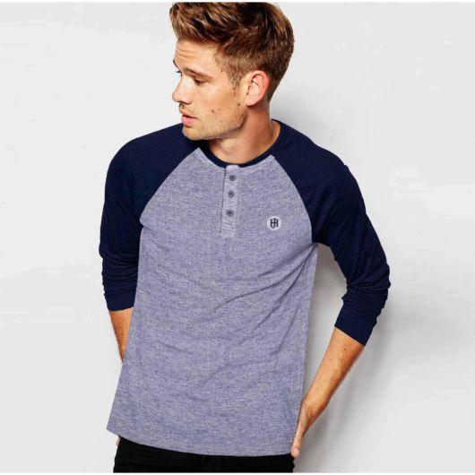 camiseta henley