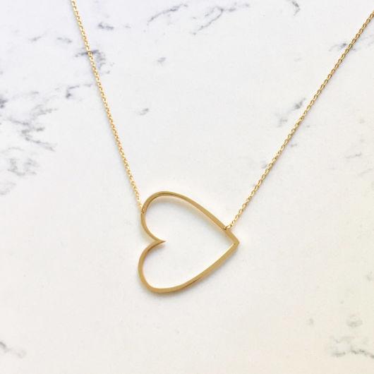 colar de ouro feminino