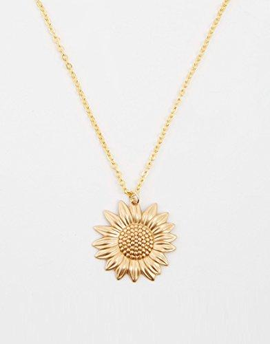 colar delicado de ouro