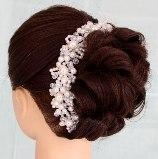 coque infantil flor com tiara