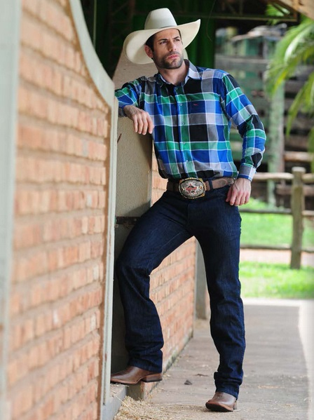 estilo masculino country