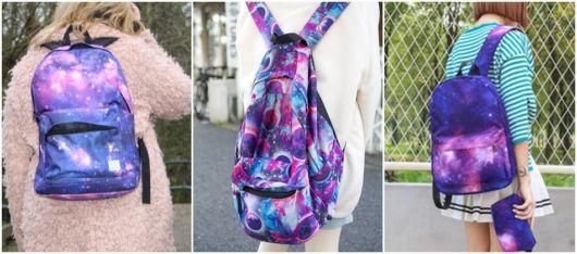modelos de mochila roxa