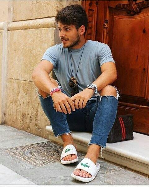 slide com jeans