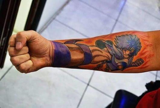 fotos de tatuagem de anime