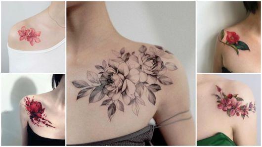 Tatuagem De Flor No Ombro 54 Tattoos Perfeitas E Desenhos Lindos