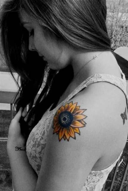 significado tatuagem girassol