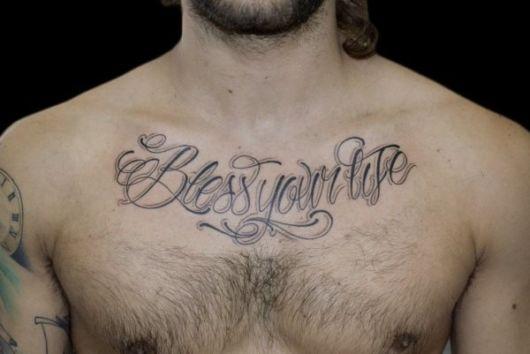 tatuagem com frases