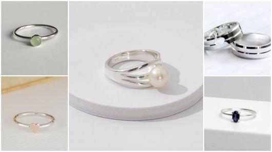 Anel de prata feminino – 47 Modelos lindos + Dicas de onde comprar!