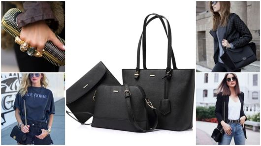 Bolsa Preta: Combina com Tudo? – 74 Modelos & Dicas Especiais!