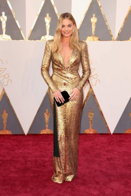 look vestido dourado